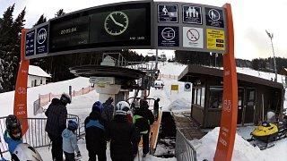 Ski areál Zadov - Churáňov