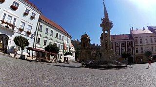 Mikulov – procházka z historického náměstí přes Svatý kopeček