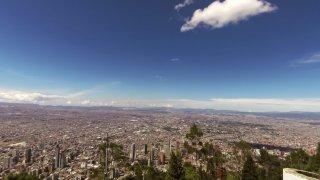 Z La Candelaria na horu Monserrat