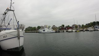 Z rybářství Hemmelsdorf do přístavu Niendorf