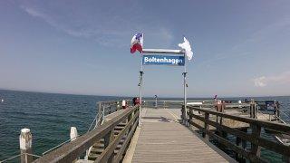 Molo v baltském letovisku Boltenhagen
