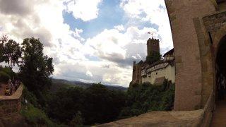 Lutherovou stezkou z Eisenachu na hrad Wartburg